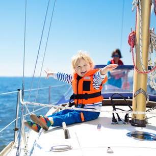 Kid on a Sailboat