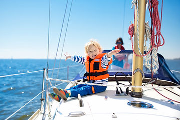 Kid on a Sailboat