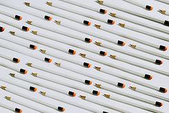 Lápices blancos