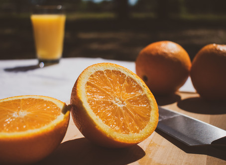DIY: Orange Cleaner