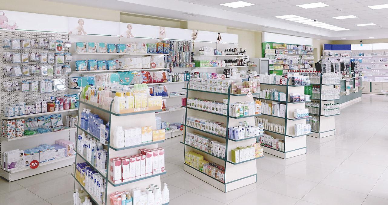 Interior of Pharmacy