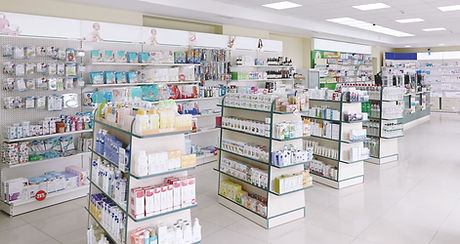 Interior of Pharmacy