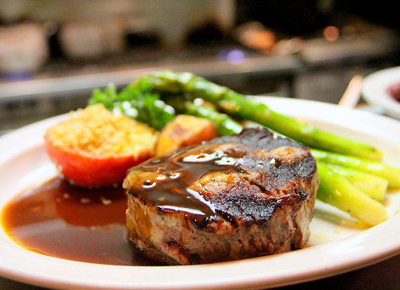 Top Sirloin Steak, Baseball cut