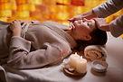 Entspannende Massagetherapie