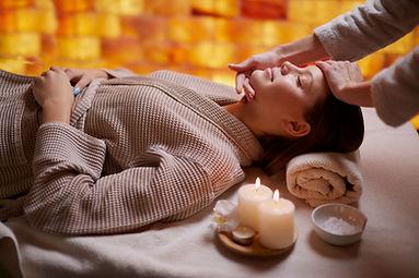Terapia de masaje relajante