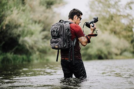 Fotógrafo de aventura
