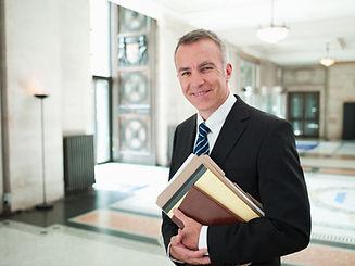 Lawyer in Lobby