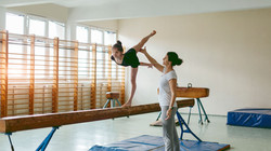 Gymnastic Rehearsal