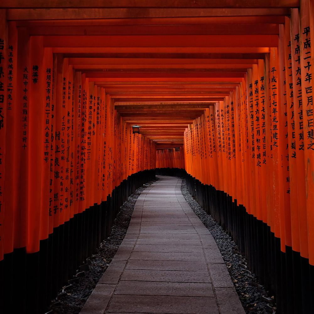 京都の鳥居