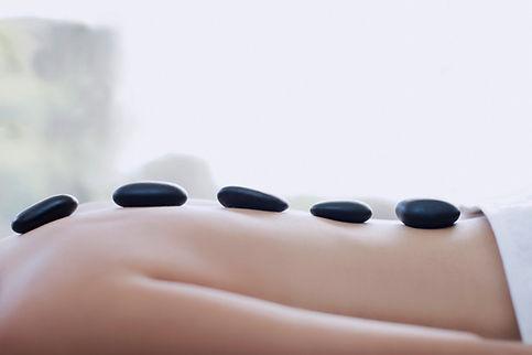 Hot Stone Massage at Moon River Wellness Center, Pelham, NH