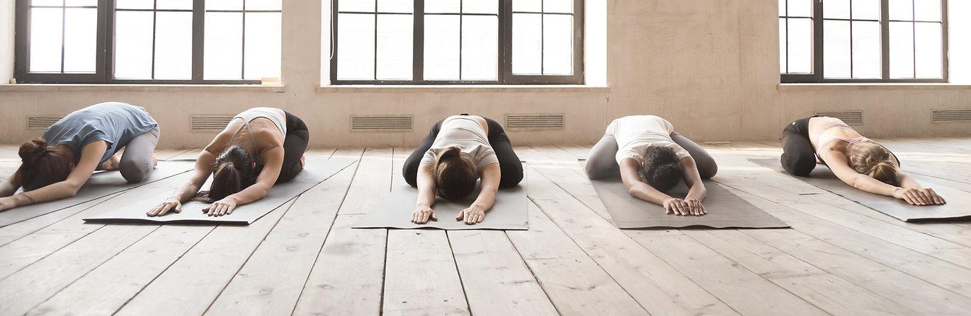 Restorative Child's Pose - Yogarise