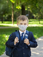 To School with Mask