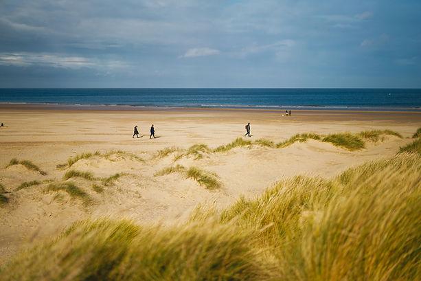 Der Strand in Ostfrieslands Küstenregion