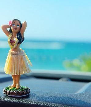 フラダンサー人形