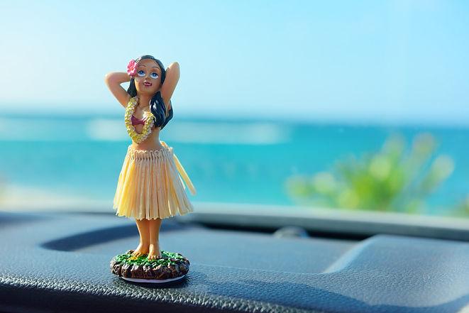 Hula Dancer Doll