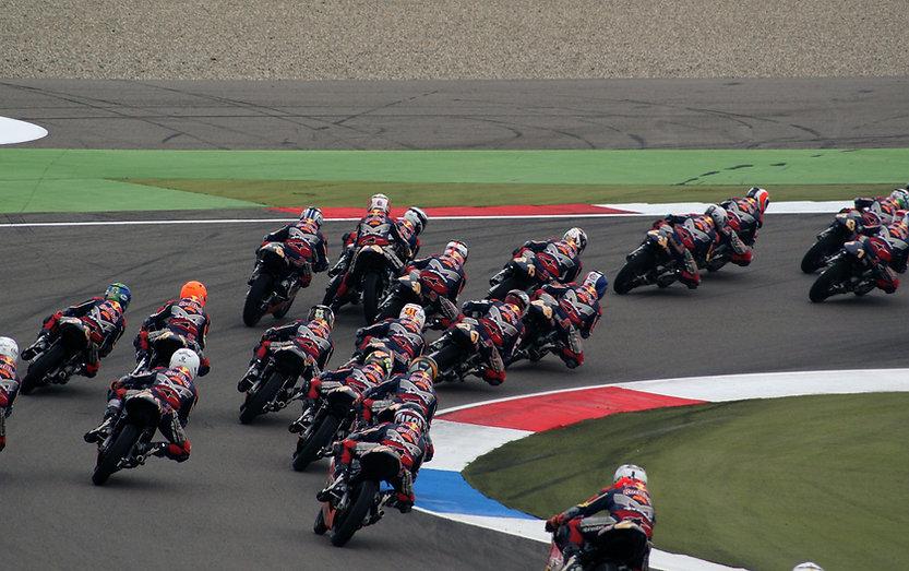 Motorcykel Race