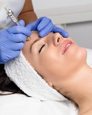 Professionell ansiktsbehandling