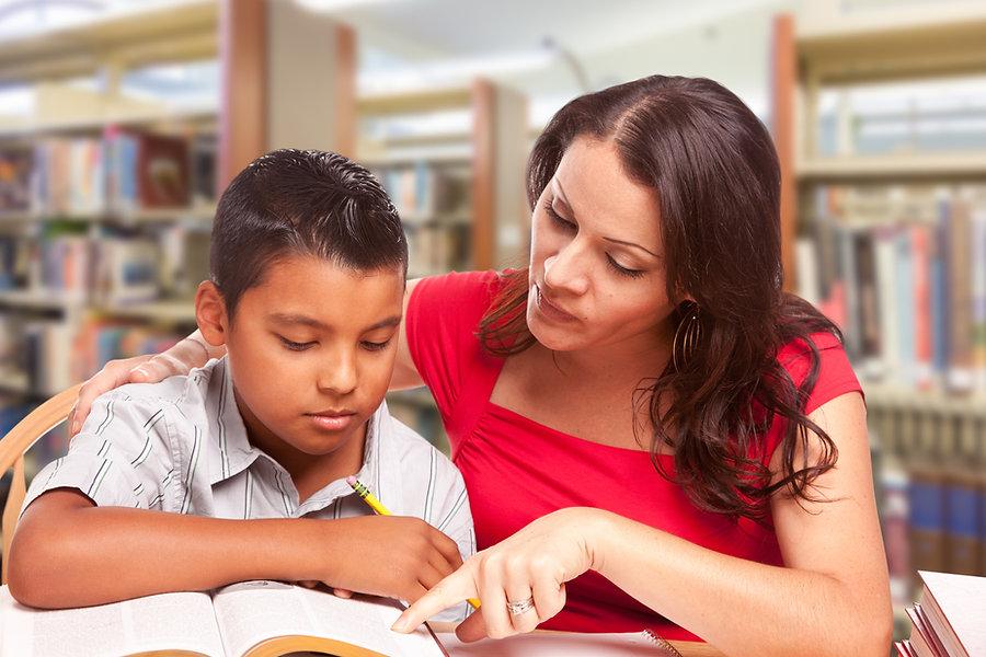 Enseñando a un alumno