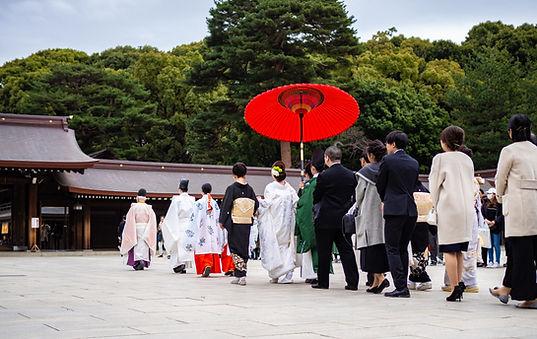伝統的な日本の挙式