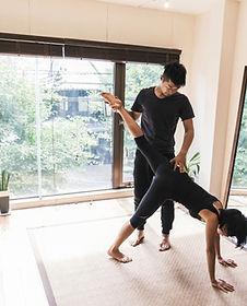 Privat yogalektion