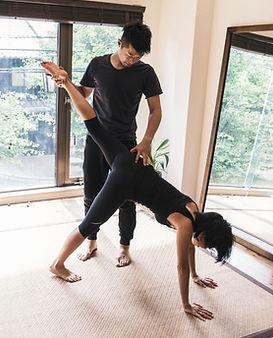 Leçon de yoga privée