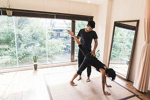 Lezione di yoga privata