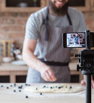 Video di cottura al forno