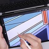 Hawthorn, iPad art, Procreate