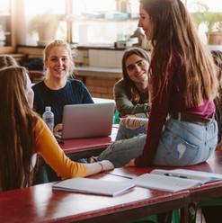 Students During Break