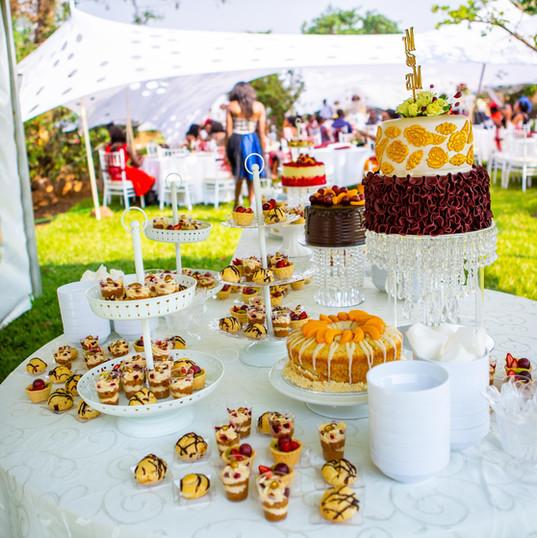 Dessert-Tisch