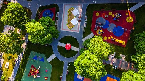 Aerial Playground
