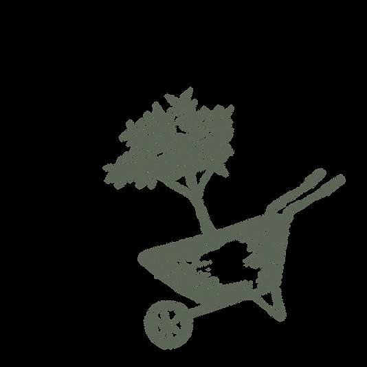 carretilla de rueda