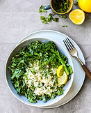 Salade de chou frisé et brocoli