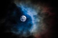 Nuvens da lua