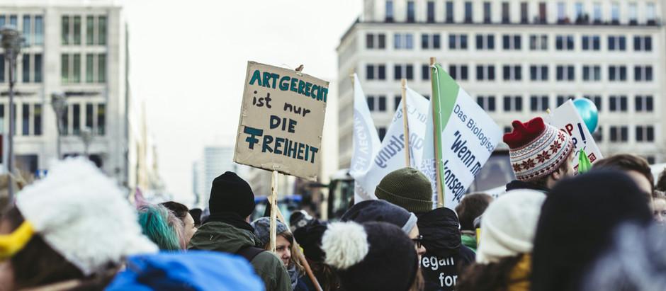Fotos der Berliner Demo