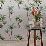 코코넛 나무 바탕 화면