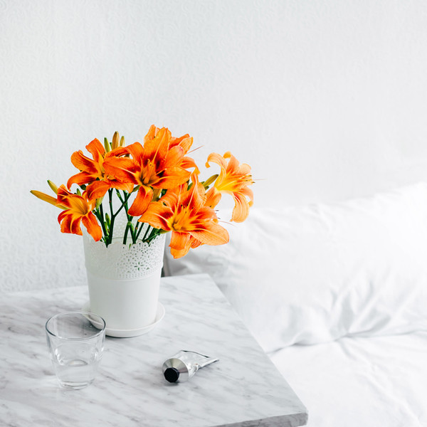 A flower a day keeps the doctor away.