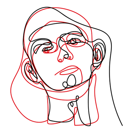 Homem abstrato