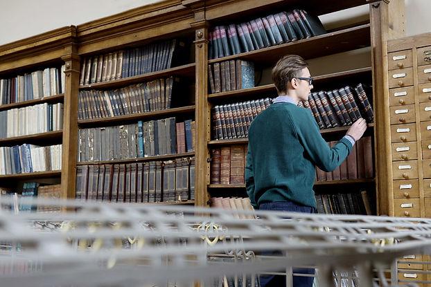 Auf der Suche nach einem Buch
