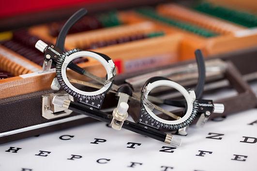 Brille für die Augenheilkunde