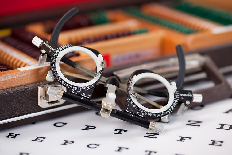 Occhiali oftalmologici