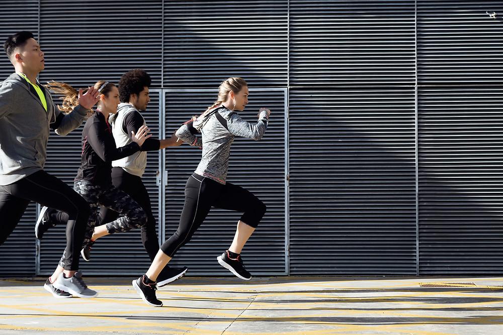 Van Run Club Run form, Running Stride Length