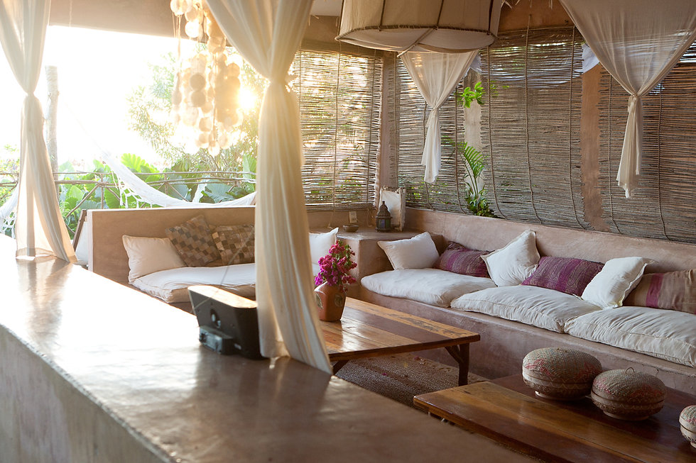 Relaxing Resting Area