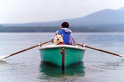 강아지와 카누 여행