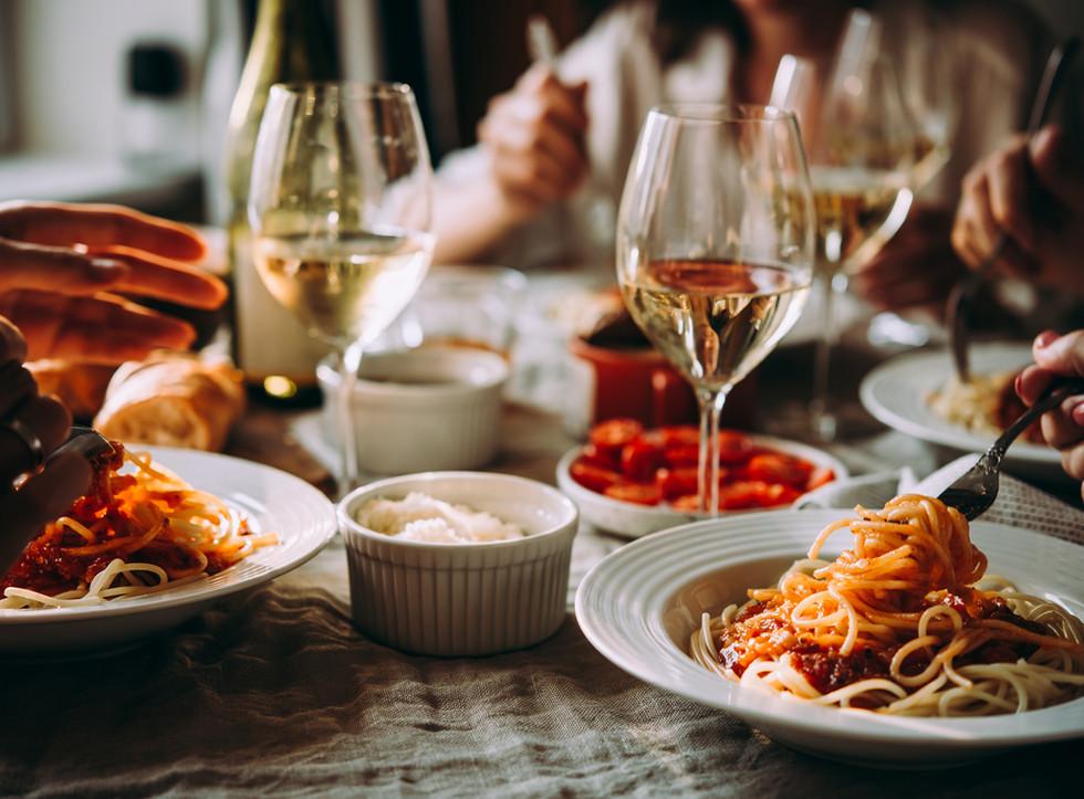 Pasta & Wein