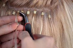 Permanente hårforlængelser