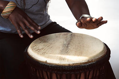 Playing a Drum