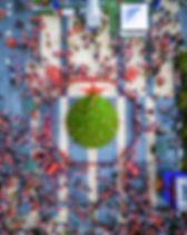 Holiday Parade Overhead