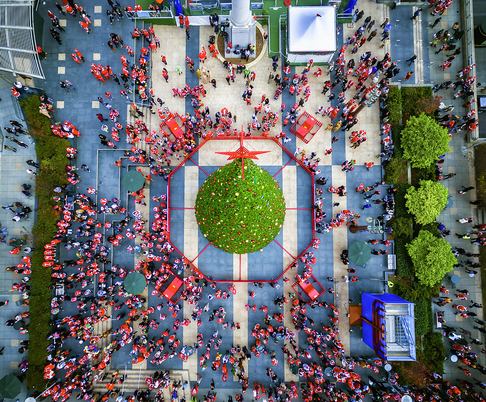 Overhead Holiday Festival