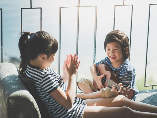 Raising Siblings While Attending School Online